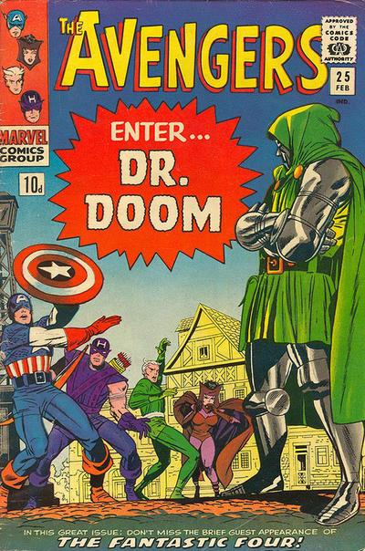Cover for The Avengers (Marvel, 1963 series) #25 [Regular Edition]