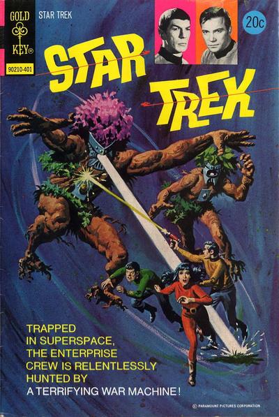 Cover for Star Trek (Western, 1967 series) #22