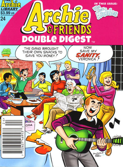 Cover for Archie & Friends Double Digest Magazine (Archie, 2011 series) #24 [Direct]
