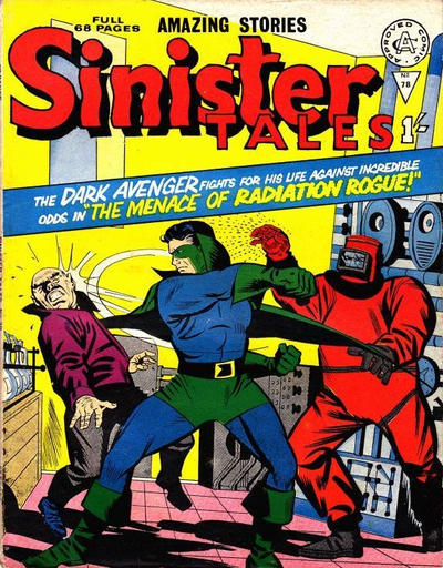 Cover for Sinister Tales (Alan Class, 1964 series) #78