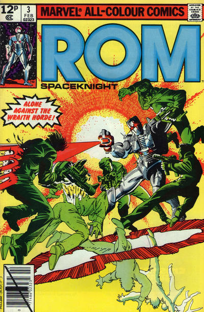 Cover for ROM (Marvel, 1979 series) #3 [British price variant]