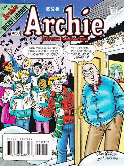Cover for Archie Comics Digest (Archie, 1973 series) #230
