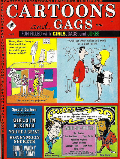 Cover for Cartoons and Gags (Marvel, 1959 series) #v11#4