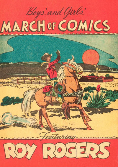 Cover for Boys' and Girls' March of Comics (Western, 1946 series) #35