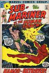 Cover for Sub-Mariner (Marvel, 1968 series) #44 [British price variant.]