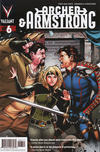 Cover for Archer and Armstrong (Valiant Entertainment, 2012 series) #6 [Cover A - Emanuela Lupacchino]