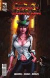 Cover for Grimm Fairy Tales Presents Madness of Wonderland (Zenescope Entertainment, 2013 series) #1 [Cover B Mike Krome]