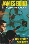 Cover for James Bond (Semic, 1965 series) #24/[1973]