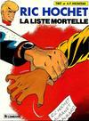 Cover for Ric Hochet (Le Lombard, 1963 series) #42 - La liste mortelle