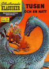 Cover for Illustrerade klassiker (Williams Förlags AB, 1965 series) #135 - Tusen och en natt
