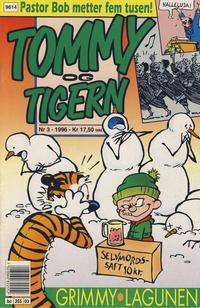 Cover Thumbnail for Tommy og Tigern (Bladkompaniet / Schibsted, 1989 series) #3/1996