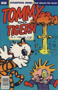 Cover Thumbnail for Tommy og Tigern (Bladkompaniet / Schibsted, 1989 series) #4/1996