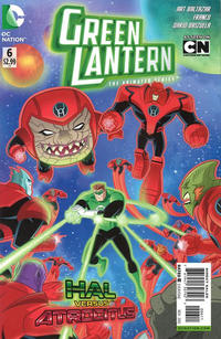 Cover Thumbnail for Green Lantern: The Animated Series (DC, 2012 series) #6