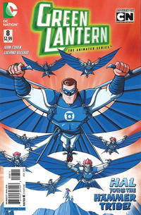 Cover Thumbnail for Green Lantern: The Animated Series (DC, 2012 series) #8