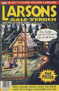 Cover Thumbnail for Larsons gale verden (Bladkompaniet / Schibsted, 1992 series) #4/1996