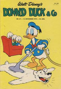 Cover Thumbnail for Donald Duck & Co (Hjemmet / Egmont, 1948 series) #47/1972