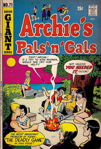 Cover Thumbnail for Archie's Pals 'n' Gals (Archie, 1952 series) #71