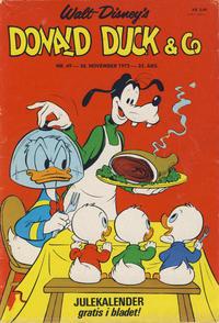 Cover Thumbnail for Donald Duck & Co (Hjemmet / Egmont, 1948 series) #49/1972