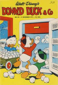 Cover Thumbnail for Donald Duck & Co (Hjemmet / Egmont, 1948 series) #50/1972