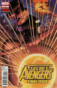 Cover Thumbnail for Secret Avengers (Marvel, 2010 series) #37