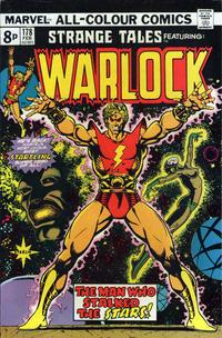 Cover Thumbnail for Strange Tales (Marvel, 1973 series) #178 [British Price Variant]