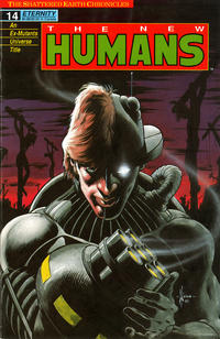 Cover Thumbnail for The New Humans (Malibu, 1987 series) #14