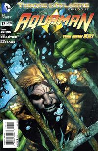 Cover Thumbnail for Aquaman (DC, 2011 series) #17 [Paul Pelletier Standard Cover]
