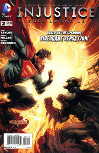 Cover Thumbnail for Injustice: Gods Among Us (DC, 2013 series) #2