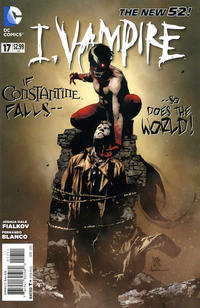 Cover Thumbnail for I, Vampire (DC, 2011 series) #17