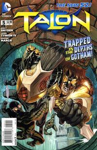 Cover Thumbnail for Talon (DC, 2012 series) #5