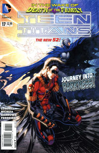 Cover for Teen Titans (DC, 2011 series) #17 [Direct Sales]