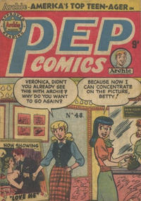Cover Thumbnail for Pep Comics (H. John Edwards, 1951 series) #48