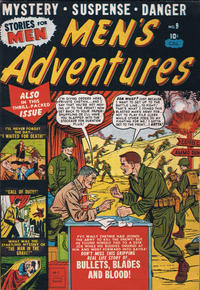 Cover Thumbnail for Men's Adventures (Bell Features, 1950 series) #9