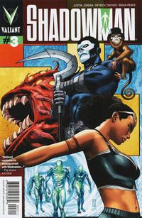 Cover Thumbnail for Shadowman (Valiant Entertainment, 2012 series) #3 [Cover A - Patrick Zircher]