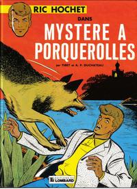 Cover Thumbnail for Ric Hochet (Le Lombard, 1963 series) #2 - Mystère à Porquerolles