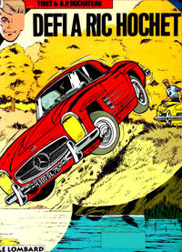 Cover Thumbnail for Ric Hochet (Le Lombard, 1963 series) #3 - Défi à Ric Hochet