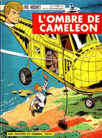 Cover Thumbnail for Ric Hochet (Le Lombard, 1963 series) #4 - L'ombre de Caméléon