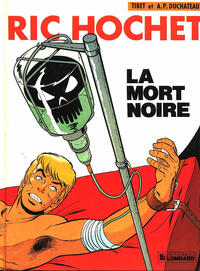 Cover Thumbnail for Ric Hochet (Le Lombard, 1963 series) #35 - La mort noire