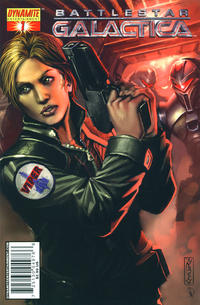 Cover Thumbnail for Battlestar Galactica (Dynamite Entertainment, 2006 series) #1 [Cover C Nigel Raynor]