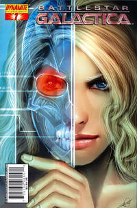Cover Thumbnail for Battlestar Galactica (Dynamite Entertainment, 2006 series) #7 [Cover B - Stjepan Sejic]