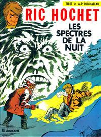 Cover Thumbnail for Ric Hochet (Le Lombard, 1963 series) #12 - Les spectres de la nuit