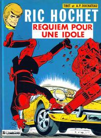 Cover Thumbnail for Ric Hochet (Le Lombard, 1963 series) #16 - Requiem pour une idole