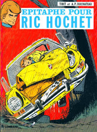 Cover Thumbnail for Ric Hochet (Le Lombard, 1963 series) #17 - Épitaphe pour Ric Hochet