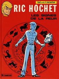Cover Thumbnail for Ric Hochet (Le Lombard, 1963 series) #19 - Les signes de la peur
