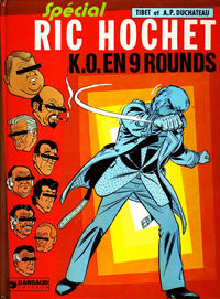 Cover Thumbnail for Ric Hochet (Le Lombard, 1963 series) #31 - K.O. en 9 rounds