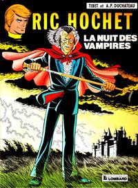 Cover Thumbnail for Ric Hochet (Le Lombard, 1963 series) #34 - La nuit des vampires