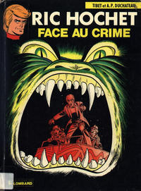 Cover Thumbnail for Ric Hochet (Le Lombard, 1963 series) #38 - Face au crime