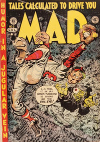 Cover Thumbnail for Mad (Superior Publishers Limited, 1952 series) #2