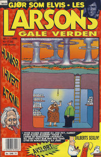 Cover Thumbnail for Larsons gale verden (Bladkompaniet, 1992 series) #11/1996