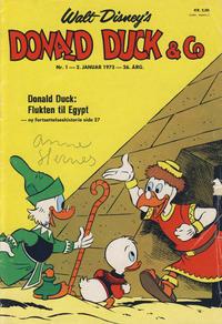 Cover Thumbnail for Donald Duck & Co (Hjemmet / Egmont, 1948 series) #1/1973